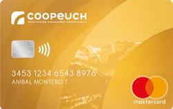 Tarjeta Coopeuch Mastercard Internacional dorada