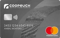 Tarjeta Coopeuch Mastercard Internacional plateada